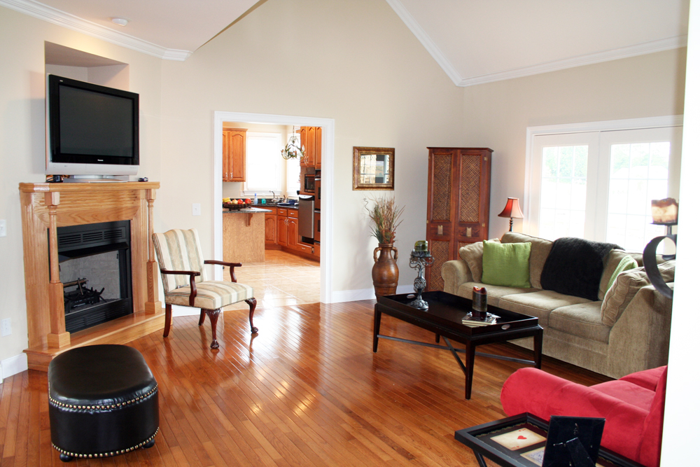 Breckenridge hardwood floors